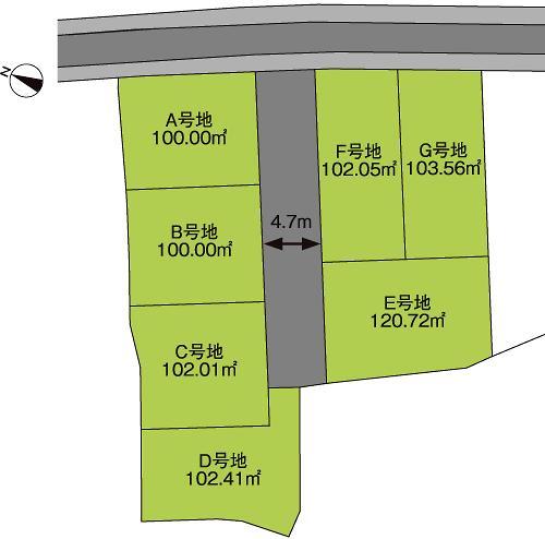 シンフォニータウン北野田駅前通り  10区画