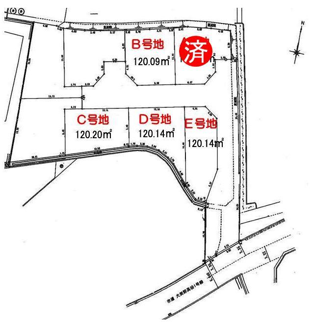 <font size=3 color=RED><B> A号地  成約御礼</a><br></B></font>   シンフォニータウン高松 Part�U