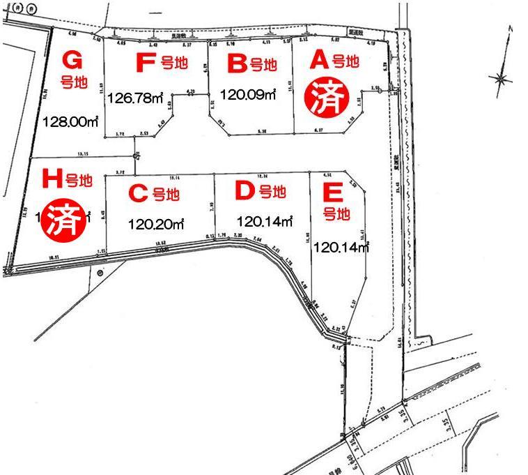 <font size=3 color=RED><B> H号地  成約御礼</a><br></B></font>   シンフォニータウン高松 Part�U