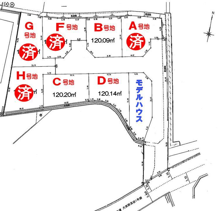 <font size=3 color=RED><B> F号地  成約御礼</a><br></B></font>   シンフォニータウン高松 Part�U
