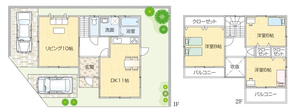 閑静な住宅街  全2区画 <font size=4 color=RED><B>成約御礼</B></font>  堺市南区桃山台3丁